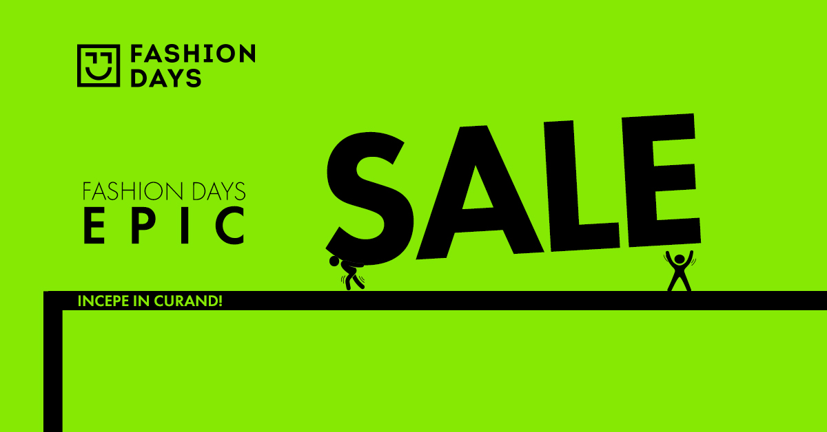 Fashion Days - Epic Sale: se pregateste marele retailer de Black Friday?