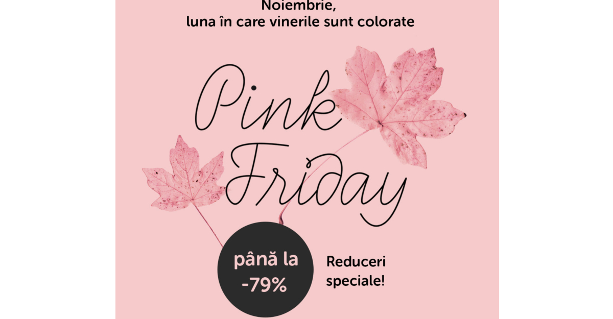 Pink Friday 2018 cu REDUCERI la articole de casă și decor la BONAMI